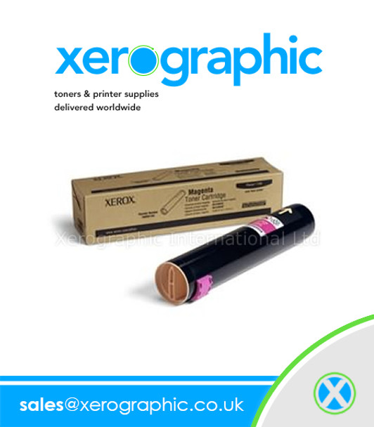 Xerox Phaser 7400 Genuine Standard - Capacity Magenta Toner Cartridge - 106R01151