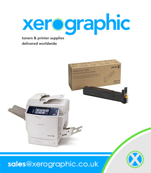 Xerox 6400 Yellow Metered Toner Cartridge PagePack 106R01326
