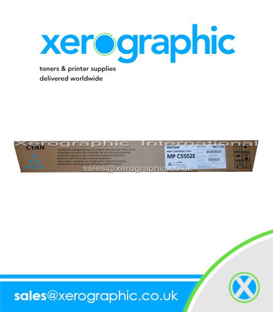Infotec ISC 3535/ 4045 Genuine Cyan Print Toner Cartridge  884945