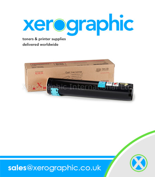 Xerox Phaser 7400 Genuine Cyan Toner Cartridge - 106R01153