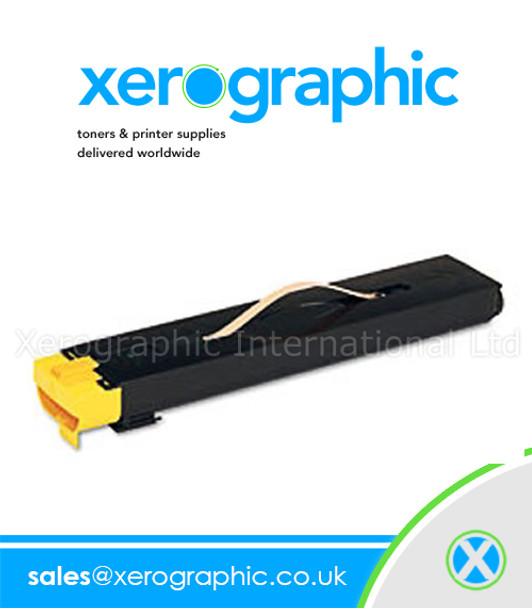 006R01386 Xerox DocuColor 700i/700 Digital Color Press Genuine SOLD Yellow Toner Cartridge
