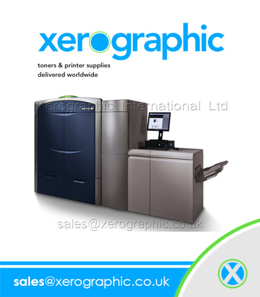 Xerox Color 1000 800 Press Genuine Black Developer 005R00742, 5R00742, 5R742