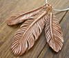 Art Clay Copper feathers