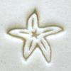 Acrylic Stamp (KS) - Starfish - 10mm