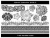 Wanaree Tanner Signature Texture Plate - Asian 1 - Henna Bloom