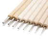 Ball Burnisher Sculpting Tools (Embossing tool) - Set of 8