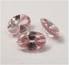Liquid cut pink square stones.