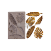 """Re•Design Decor Mould by Prima - Monstera 5x8"""" With examples"""