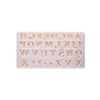 Silicone Mould (Decoration Alphabet)