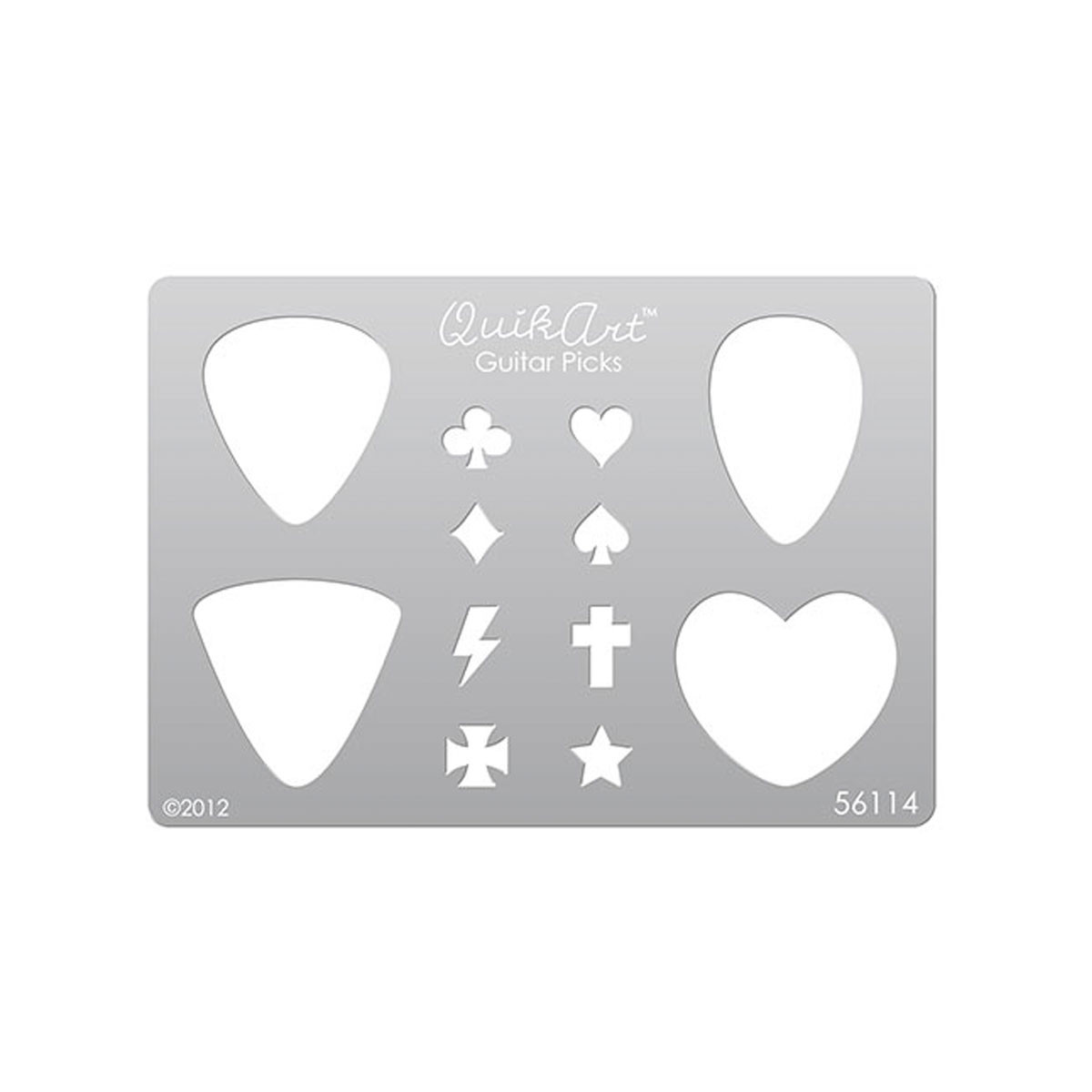 guitar pick template