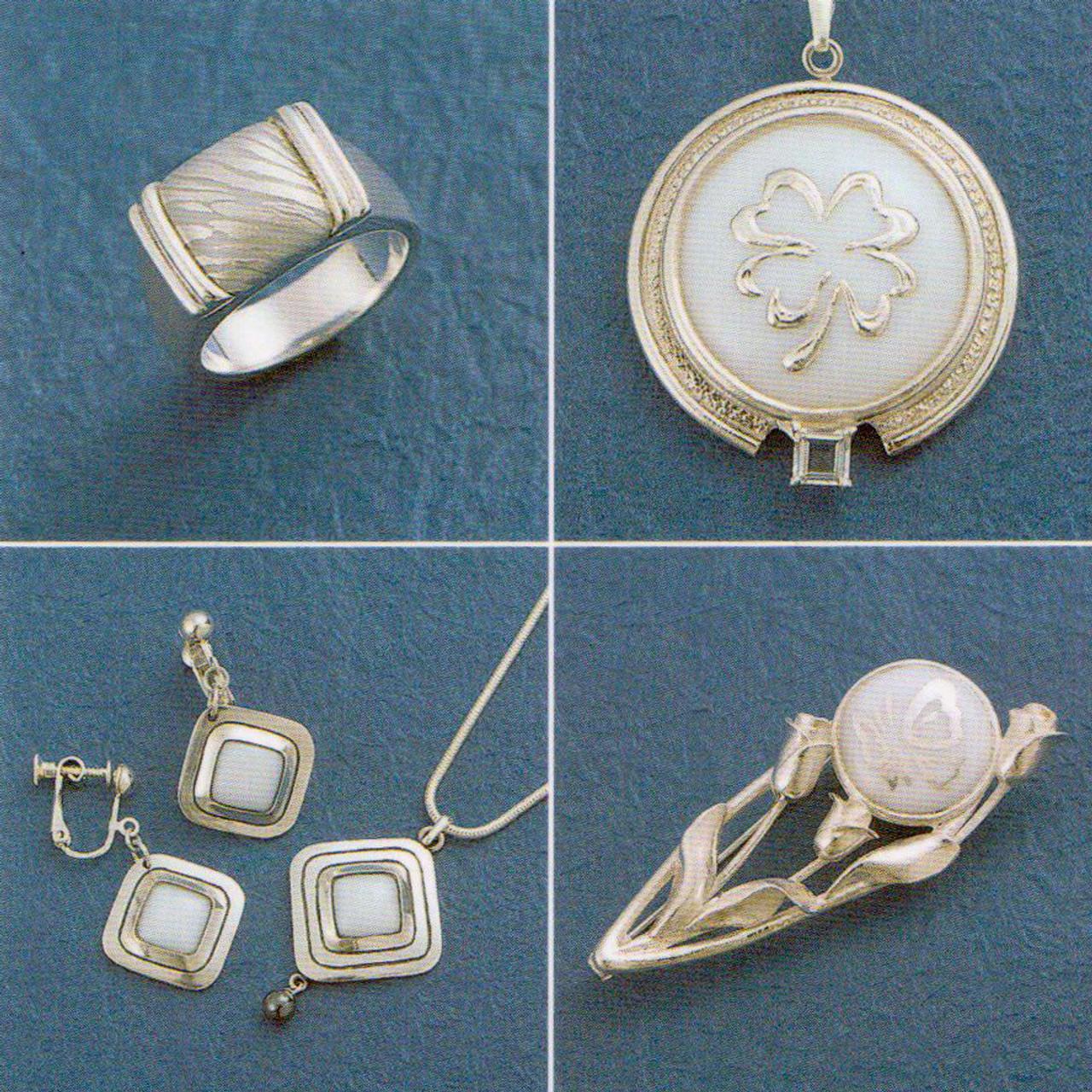 Art Clay Silver Overlay Paste - add real genuine fine silver to glazed ceramics!