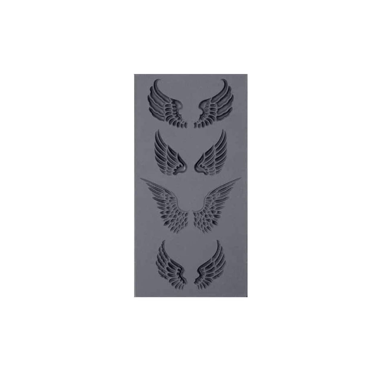 Texture Tile - Angel Wings Embossed