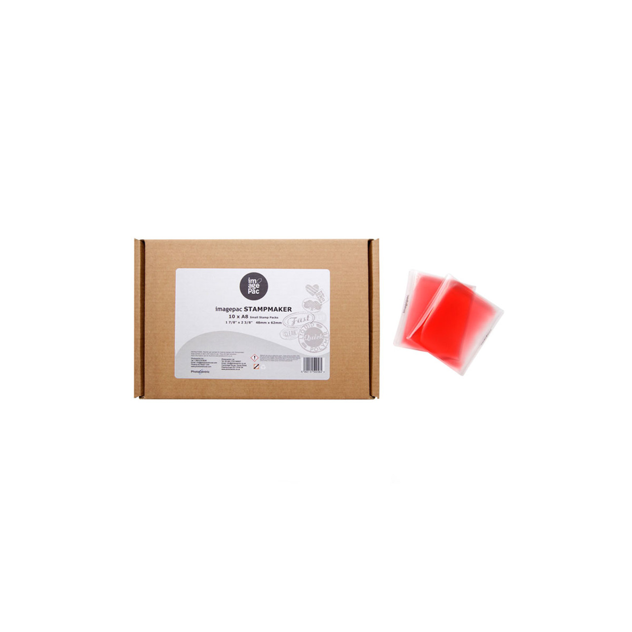 Stampmaker 1.9mm Red Sachets - (A8) Pack of 10