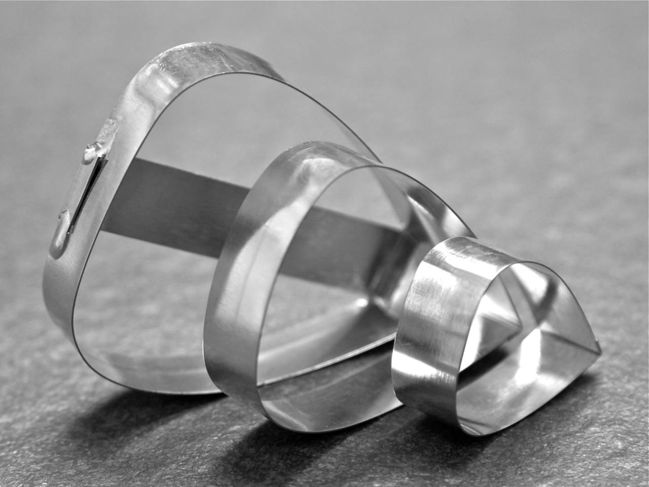 Cutters - Shields - Set of 3