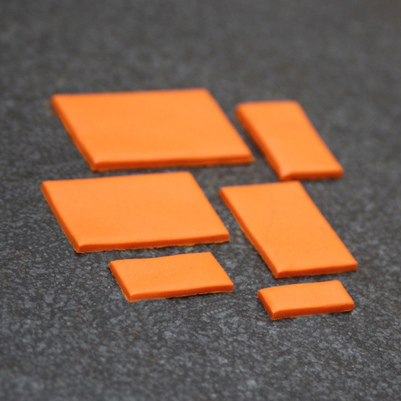 Cutters - Rectangle - Set of 6
