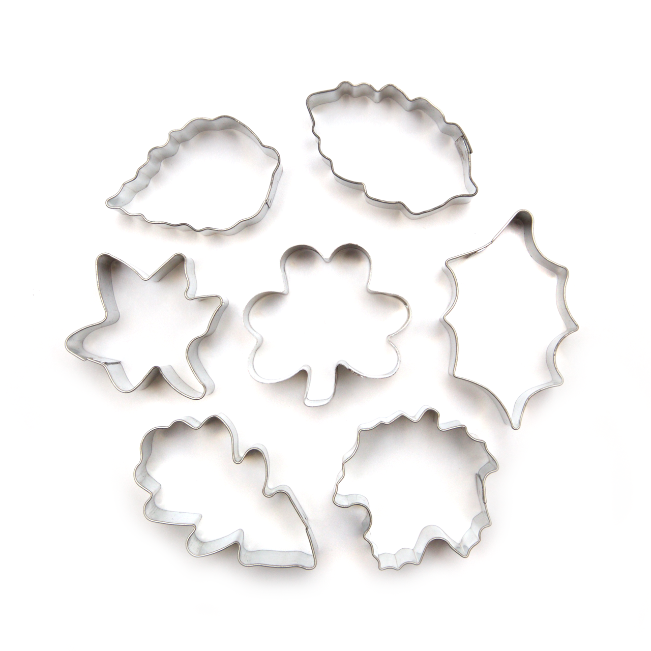 Cutters - Leaves - set of 7