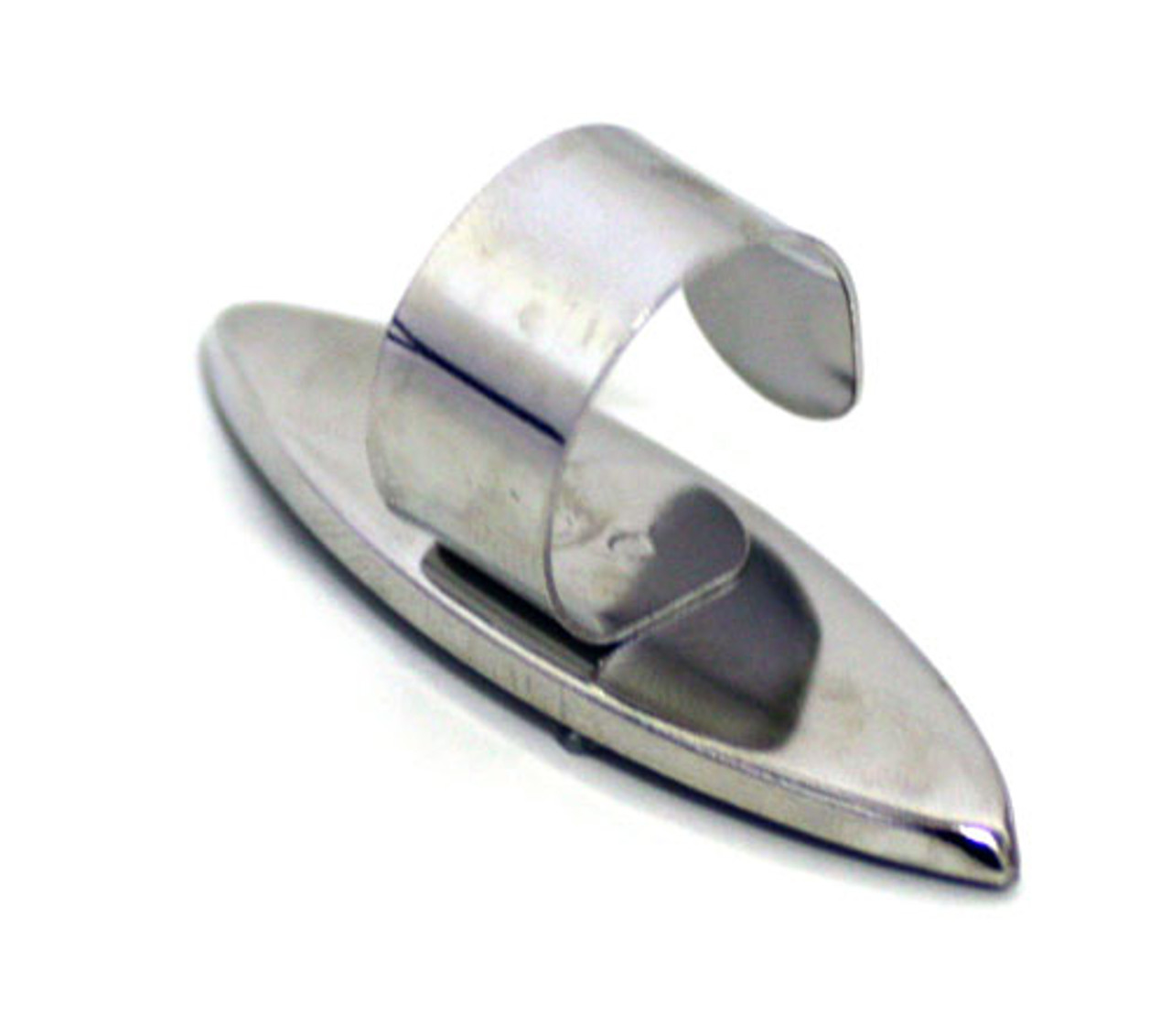 Efcolor Ring Bezel Blank - Pointed Oval - 17 x 52mm