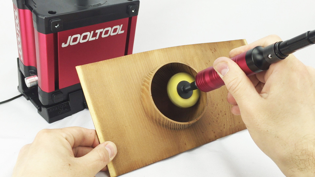 JoolTool Accessories: Pro Flexshaft Kit w/ NEW Heavy-Duty Hand-Piece