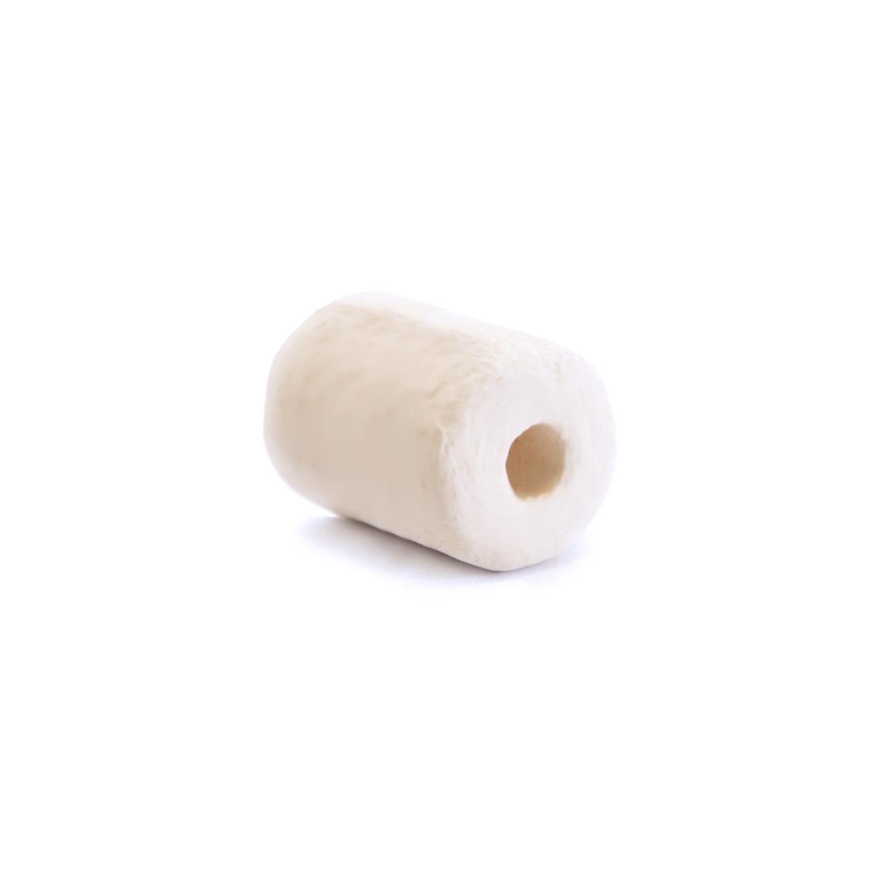 Ceramic Bead Unglazed - Small Tubular