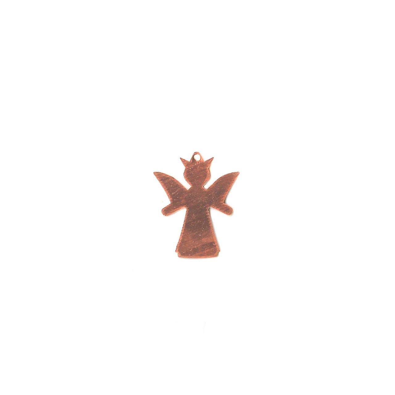 Copper Blank - Angel - 30 x 24mm