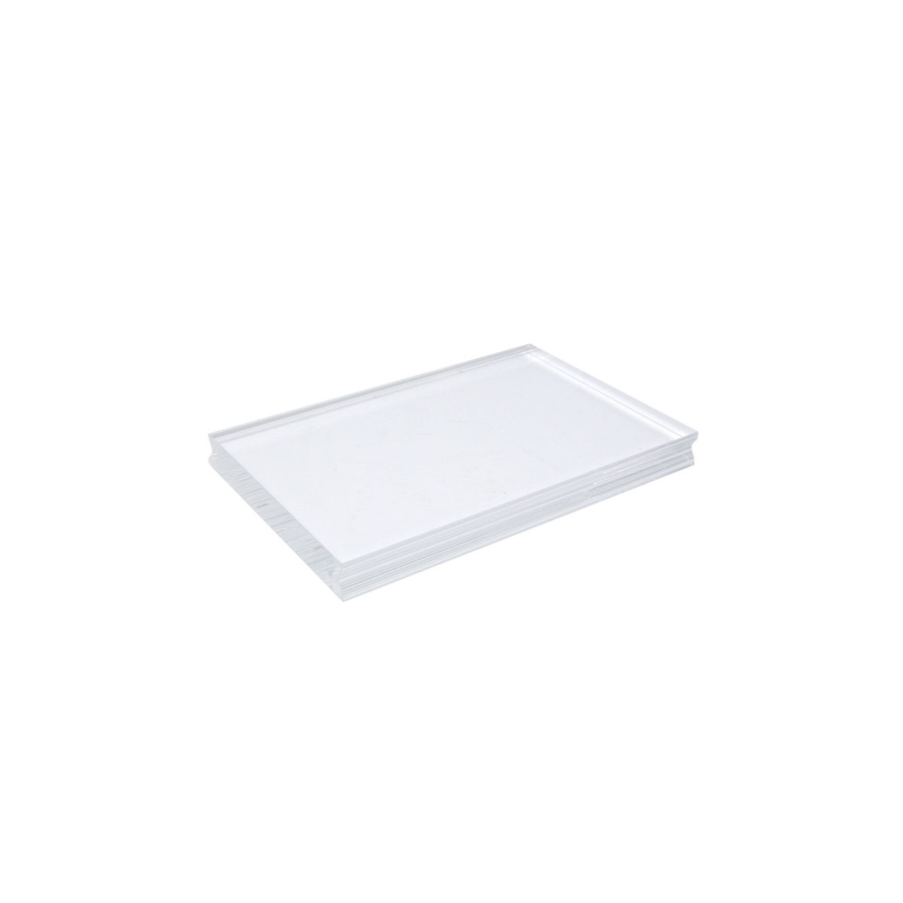 Acrylic Stamping Block Large - 100 x 150mm