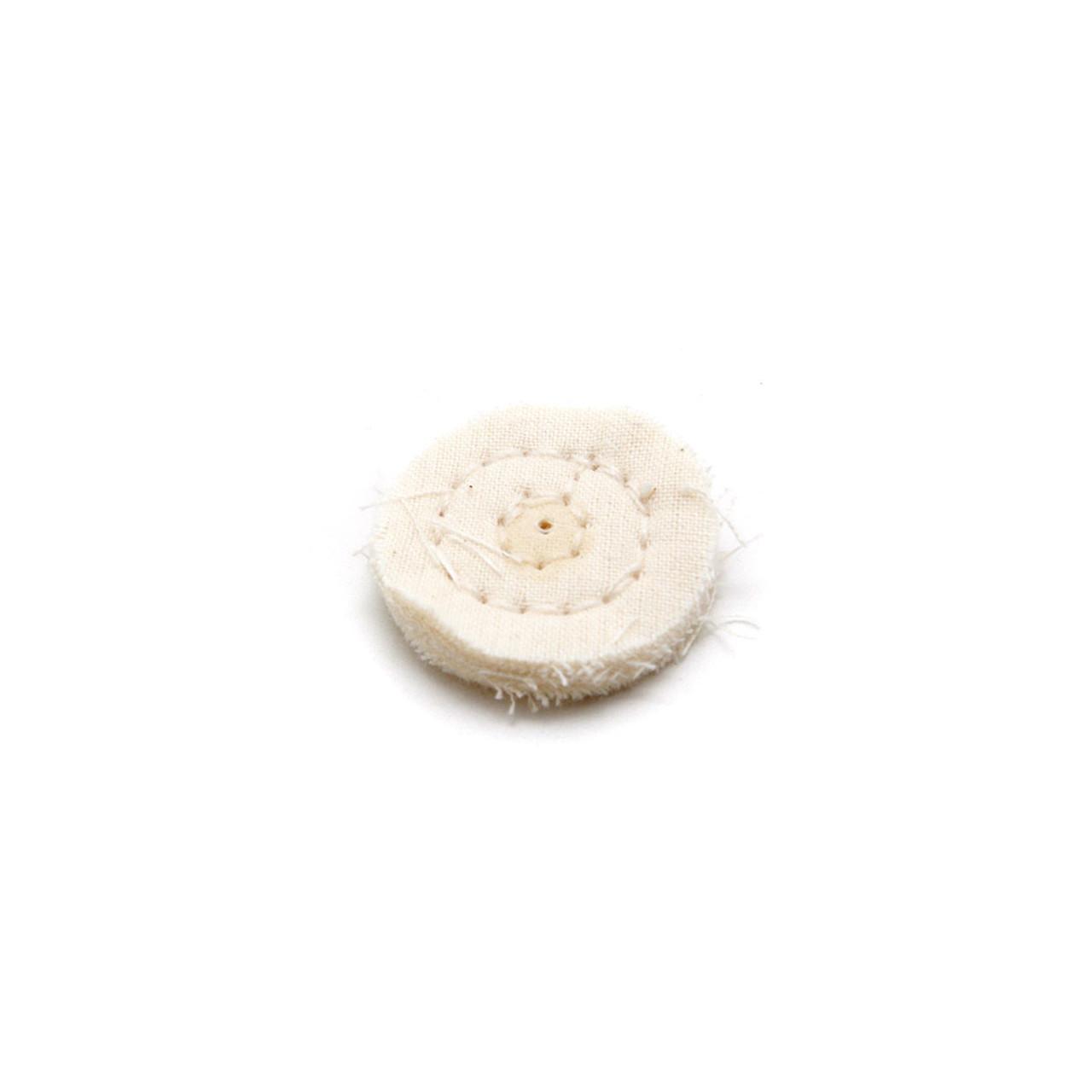 "Foredom Muslin Cotton Buff - 2.54cm (1"")"