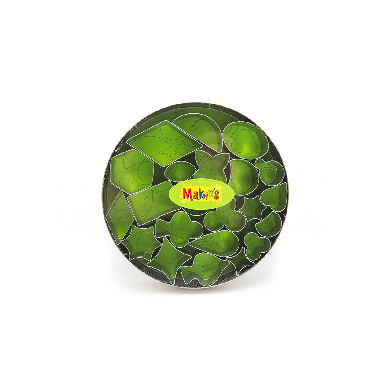 Makin's Clay Cutters- Geometric - Set of 22