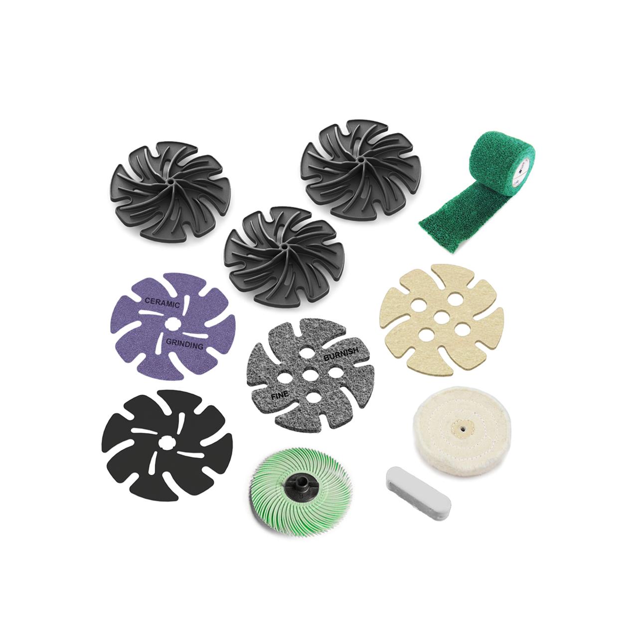 "JoolTool Add-on: Metal Polishing Kit 4"""