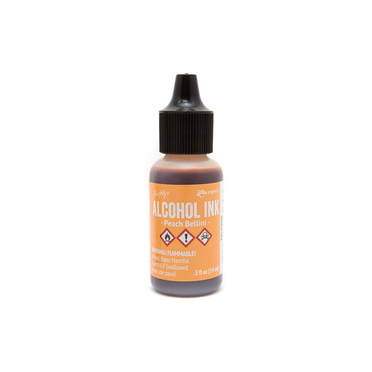 Alcohol Ink - Peach Bellini