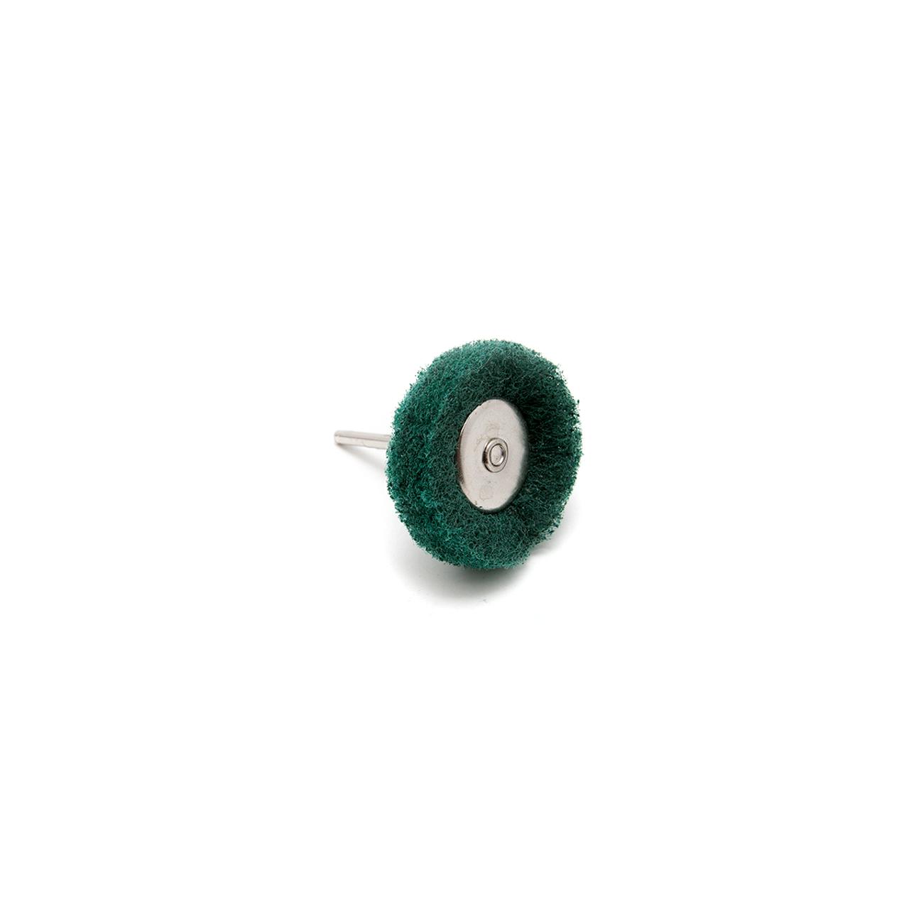 Abrasive Wheel Buff - 180 Grit, Green, 38mm