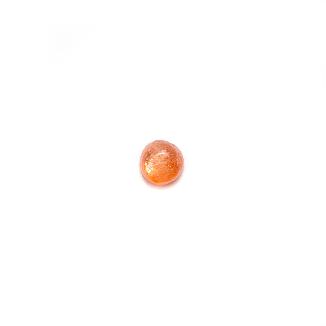 Round Cabochon - Sunstone - 3mm