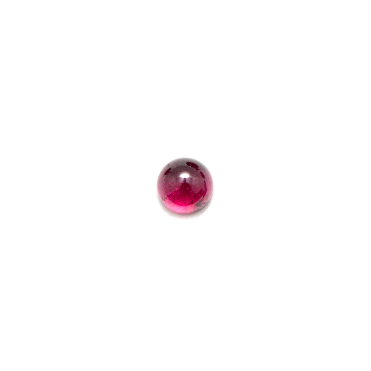 Round Cabochon - Garnet Indian - 3mm