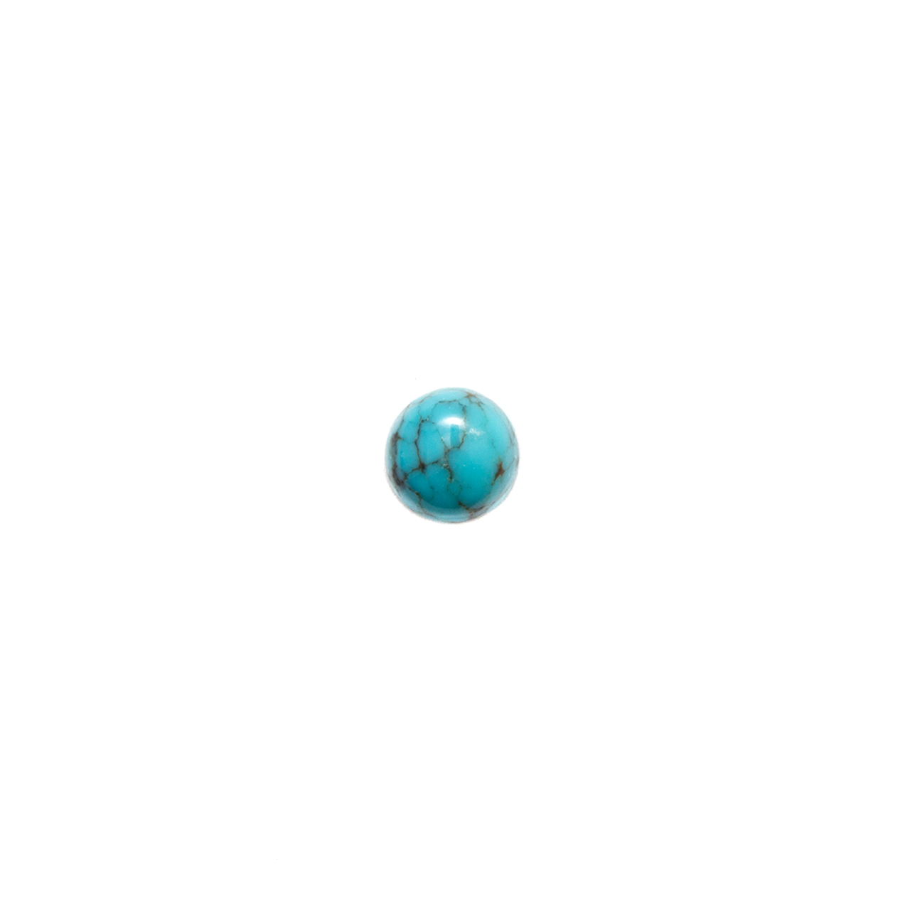 Round Cabochon - Chinese Turquoise - 3mm