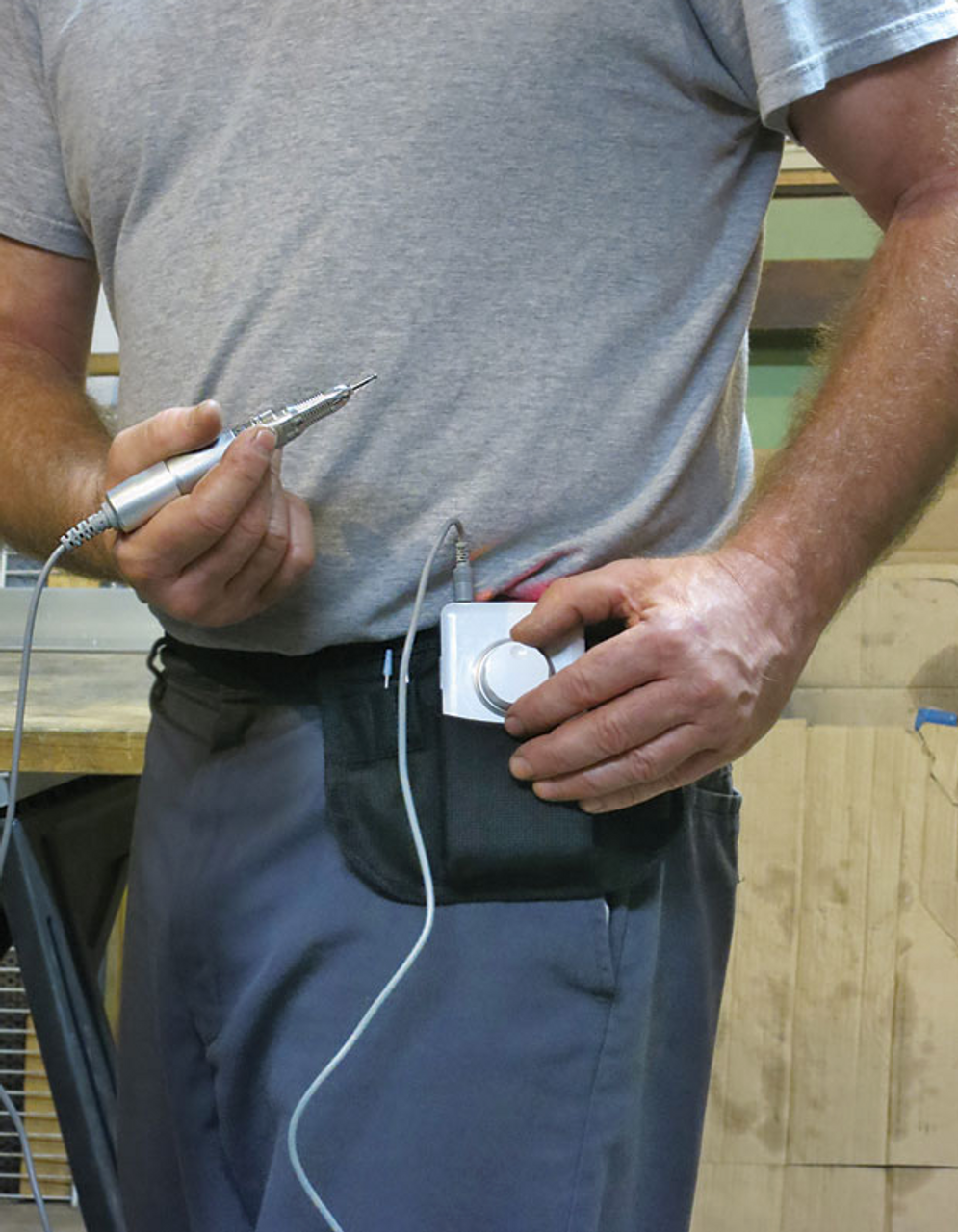 Foredom Micro Motor Carrying Pouch in use