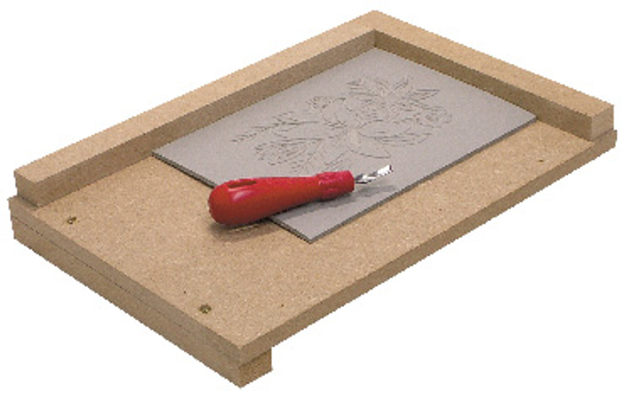 Picture for example only - Carving Tool and Sheet not included.