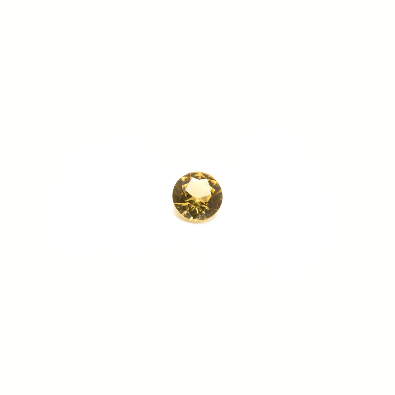 Yellow Round Stone