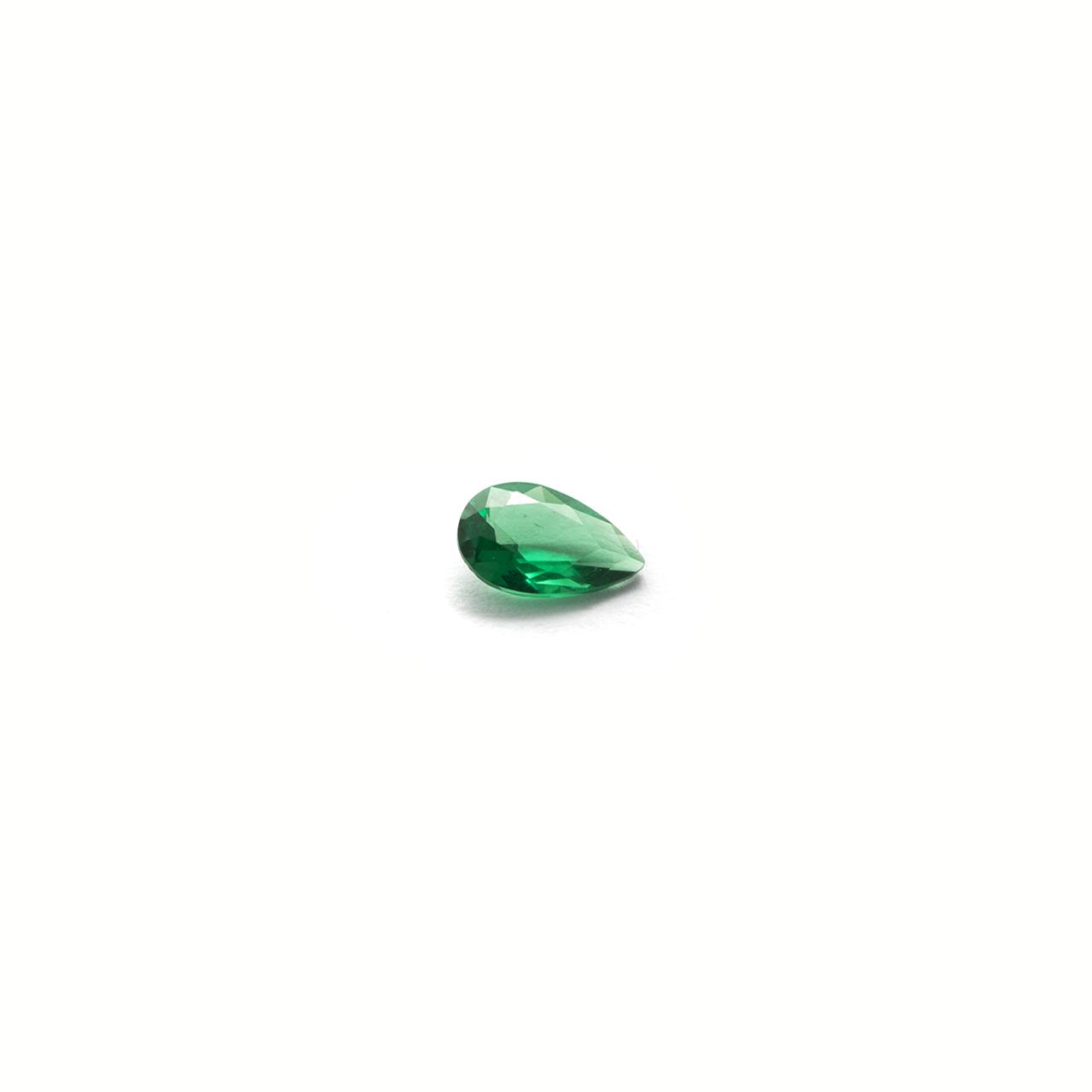 Green Teardrop Stone