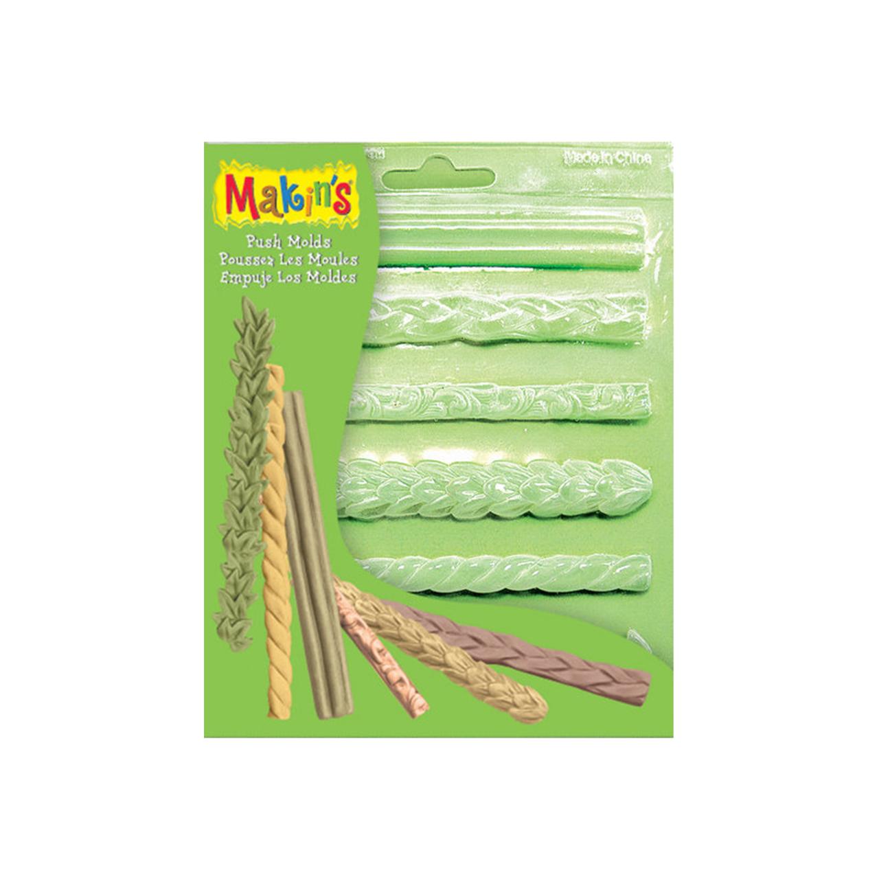 Makins Push Mold - Border Patterns