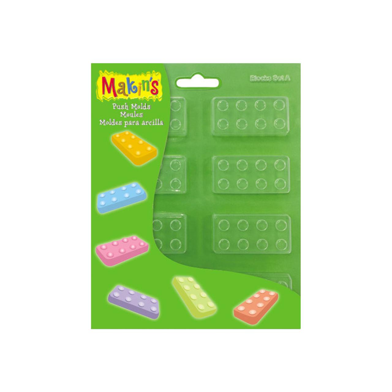 Makin's Push Mold - Blocks