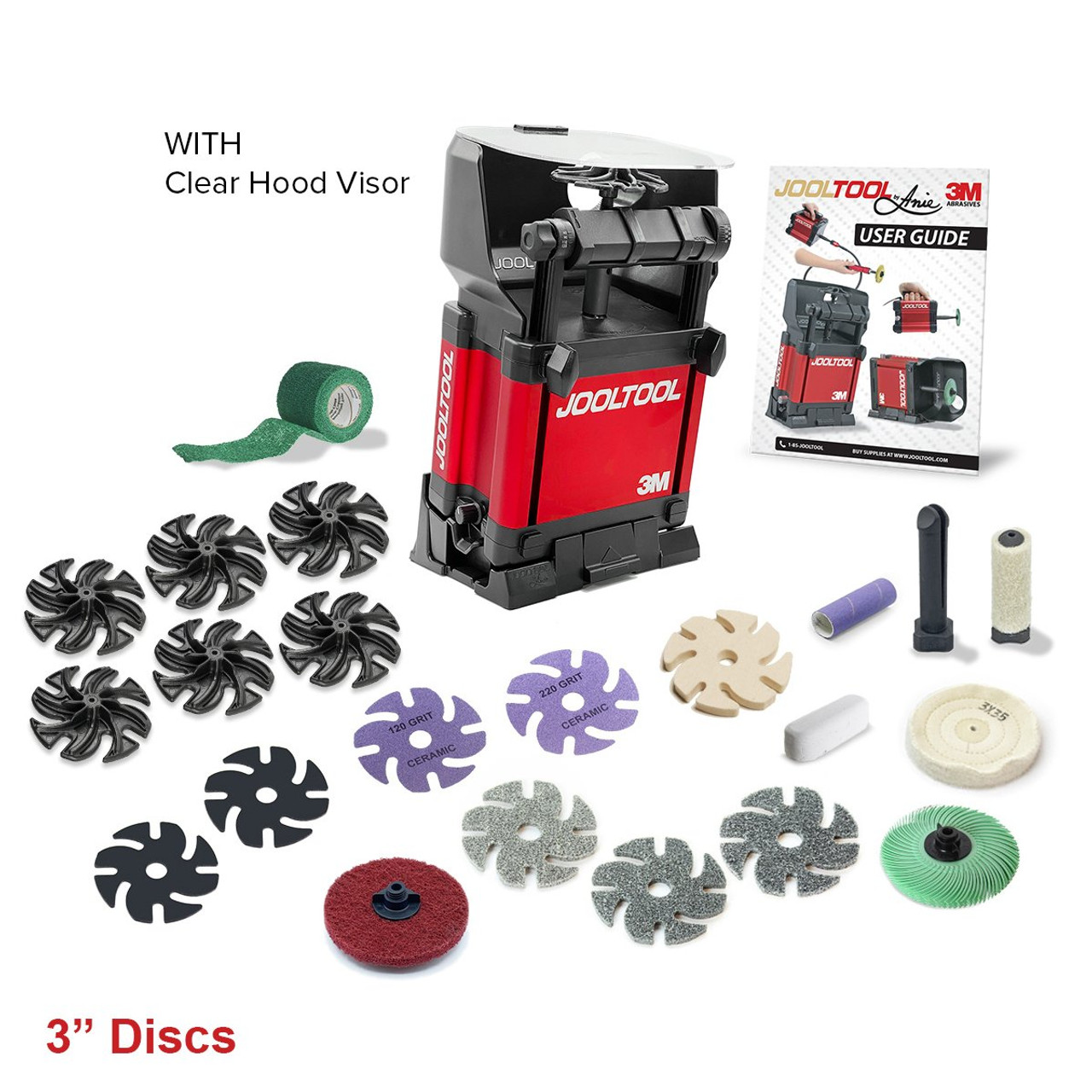 NEW - JoolTool MetalSmithing Kit with clear visor and ring mandrel kit! JTX-MST-LC