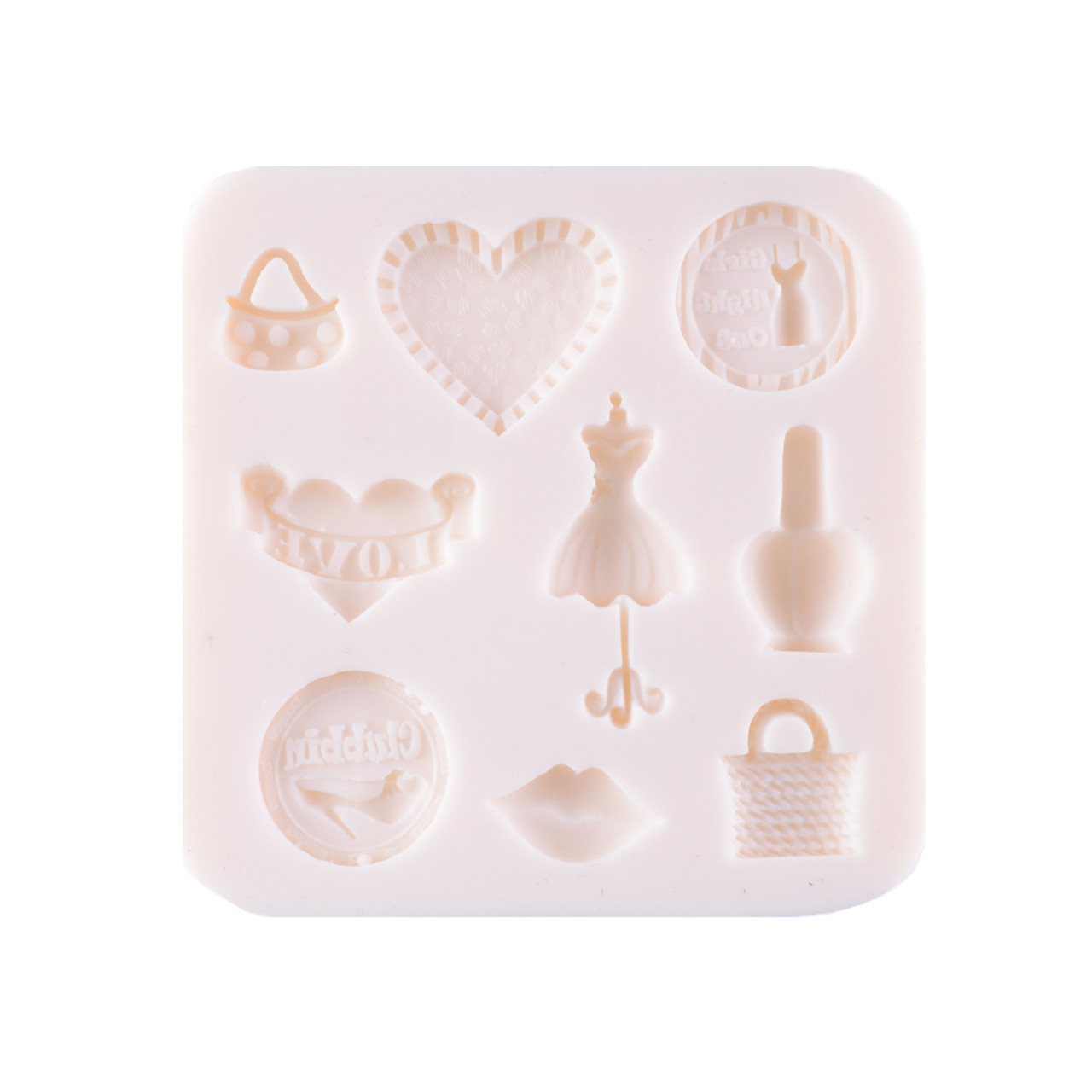 Silicone Mould - Pretty Charms 9 Kinds