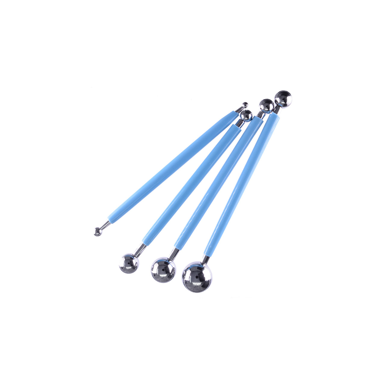 Double-ended Clay Tool Round Ball 4 pcs/set