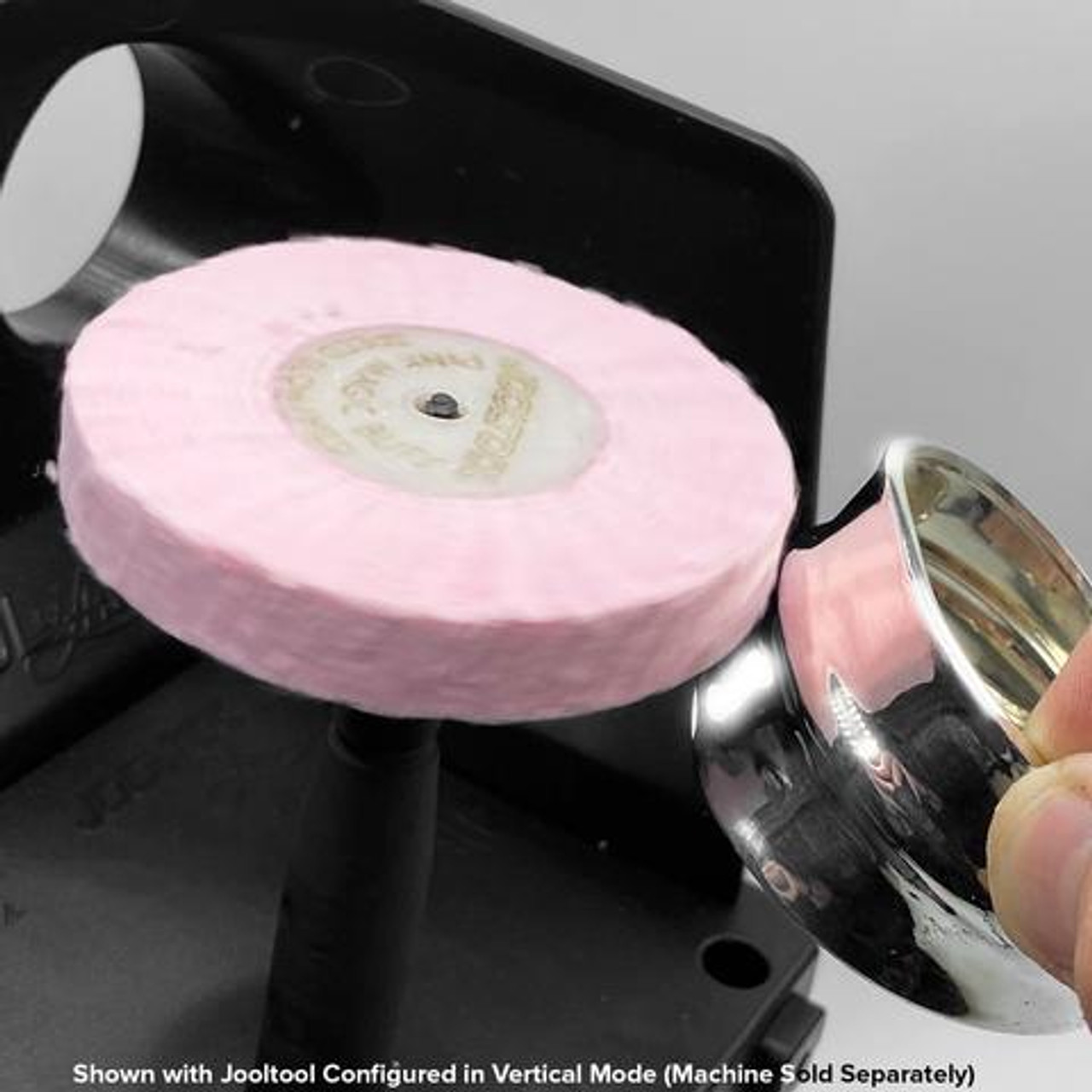 "JoolTool Essentials: Pink Magic Buffing Wheel 3"""