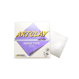 Art Clay Paper Type Silver - 75 mm x 75 mm - 10gm of silver