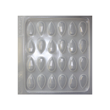 Resin Mould - Faceted Teardrops - 24 in 1