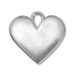 Pewter Blank Heart