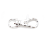 """Clasp, Lobster Keyring - Silver-Plated """"Pewter"""" 4 x 2cm - 6 Pack"""