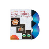 Pam East's Enameling on Silver Clay 2 DVD Set