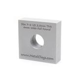 Ring Maker Mould 6mm Wide - UK Size N-P