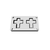 Bead Builder Mould Add-on — Frame Adapter - Cross